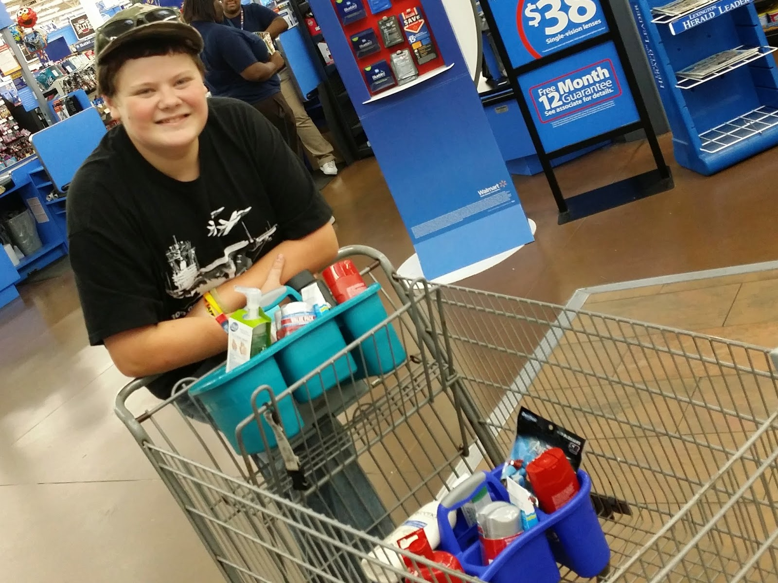 Saving Money and Tackling Teen Hygeine with the Walmart #SavingsCatcher