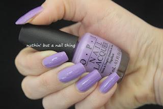 OPI - Do You Lilac It from nailpolish.co.uk
