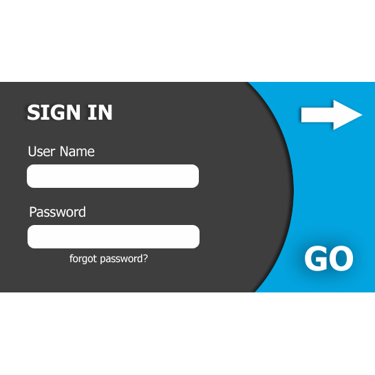 Login Form for websites