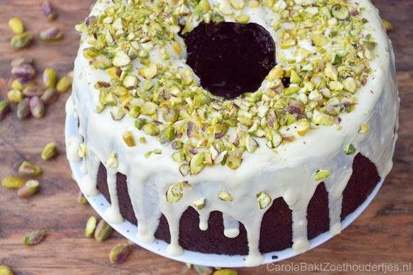 Chocolade chilipeper cake uit Heel Holland Bakt bakboek