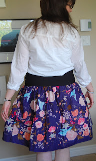 Nani Iro Simple Skirt Semi-Tutorial by Cicely Ingleside