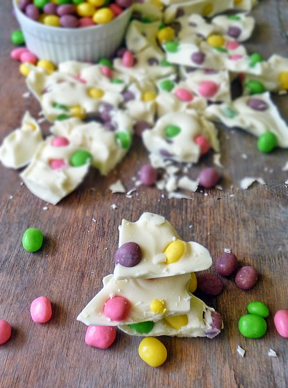 Jelly Bean Easter Bark | by Life Tastes Good #Easter #Snack