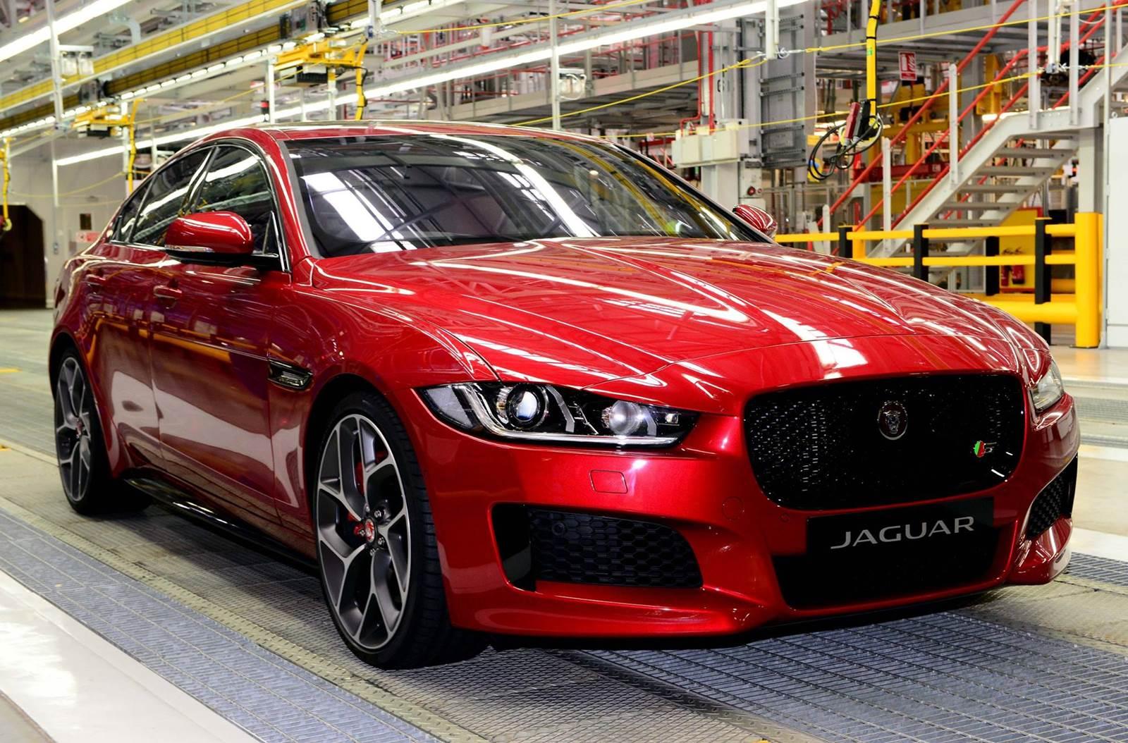 Jaguar XE - produção iniciada