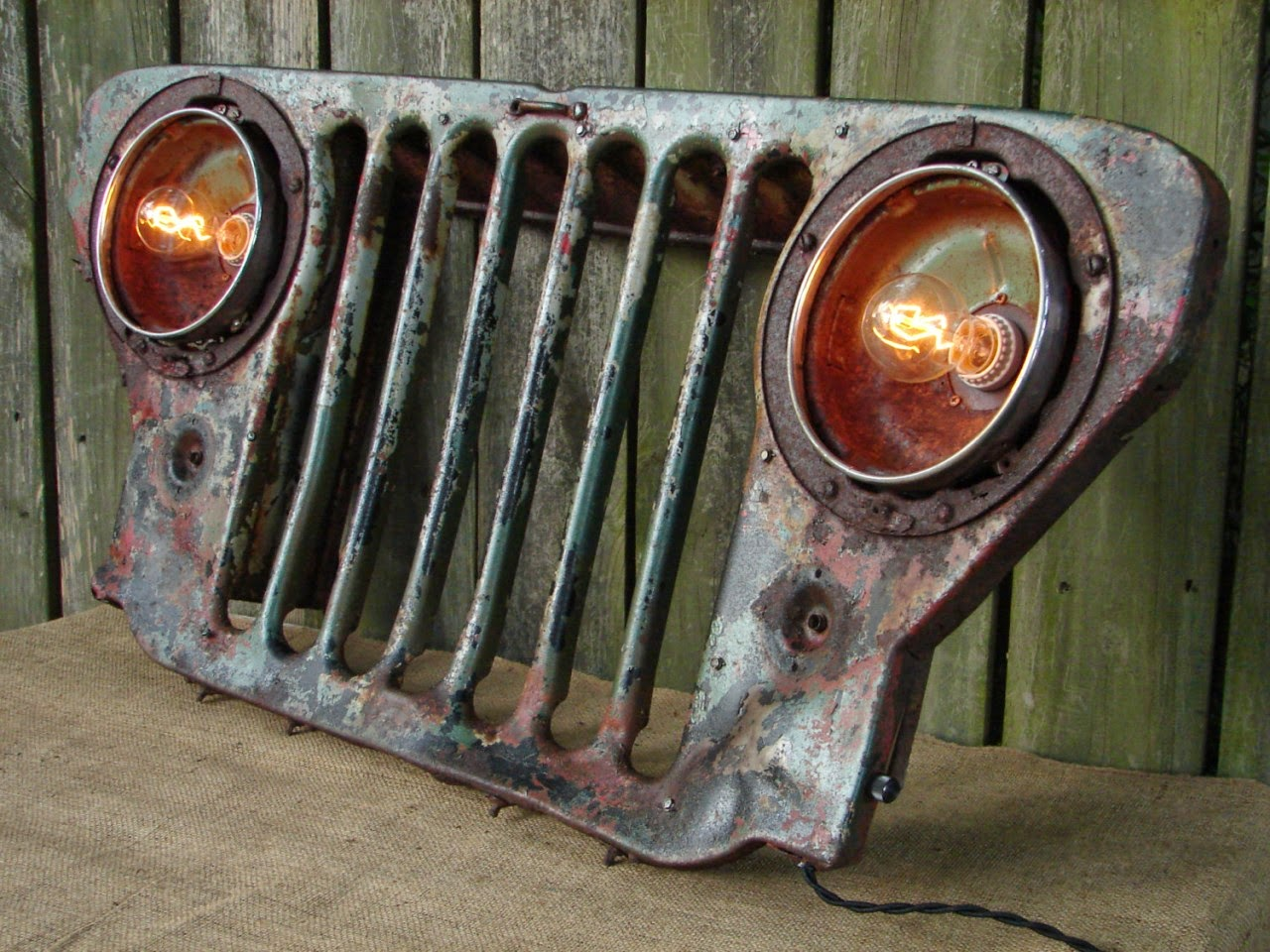 Just a car guy autosaur has posted a collection of car Custom furniture made car parts