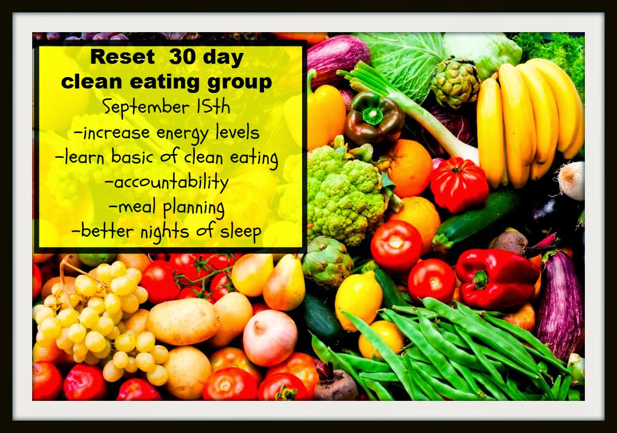 30 day clean eating group