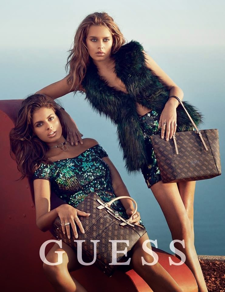 Guess holiday 2017 campaign