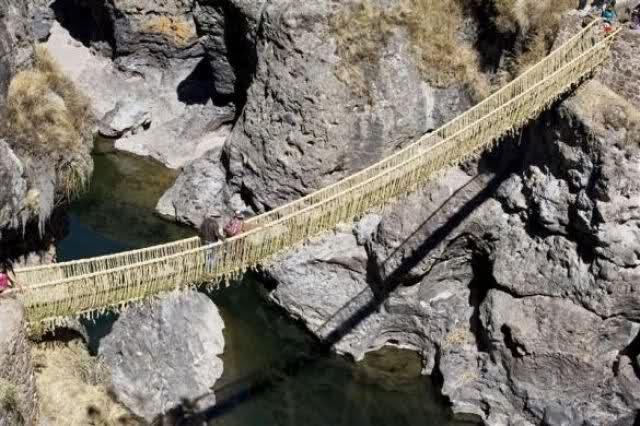 cara membuat jembatan gantung