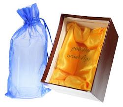 Copa de cristal para el novio Mazal Tov 10x5.5 ctms