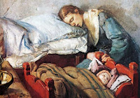 Sleeping young person