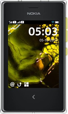 Buy  Nokia Asha 503 (Yellow) Rs 4,999 only at Flipkart