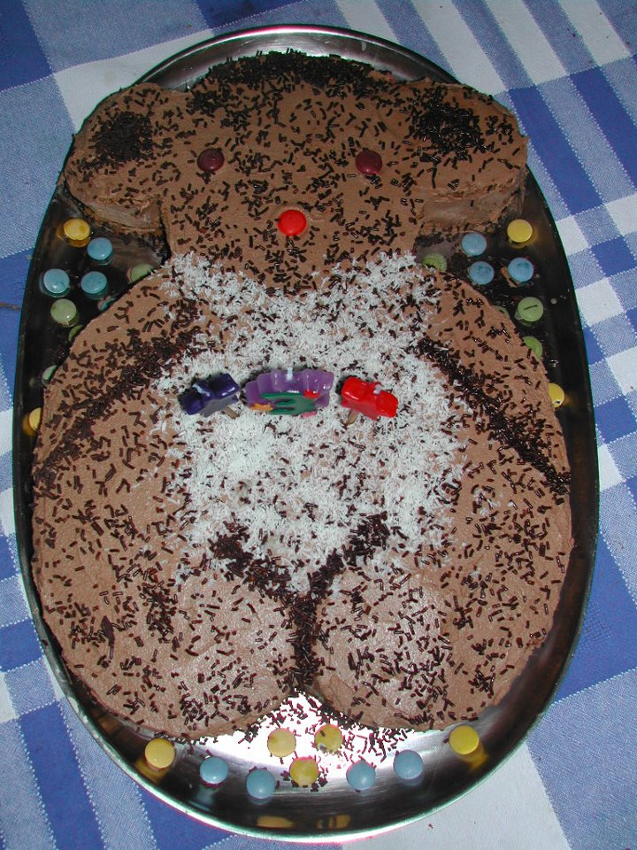 Tarta de Cumpleaños Oso