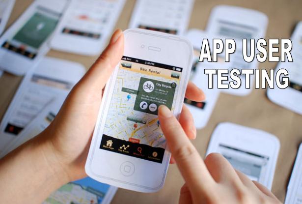 Mobile App User Testing