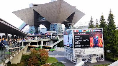 東京モーターショー2015会場