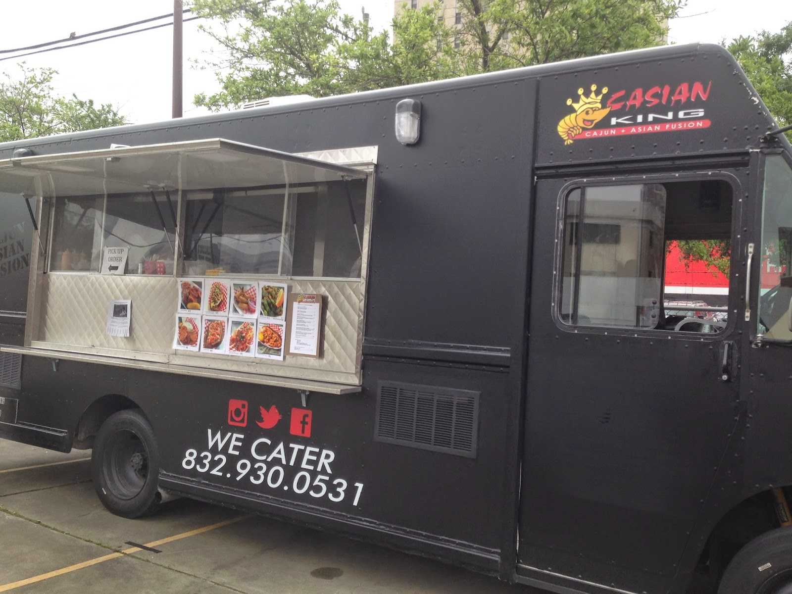 Casian King Food Truck, Houston Texas