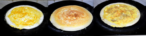 how to make egg dosa