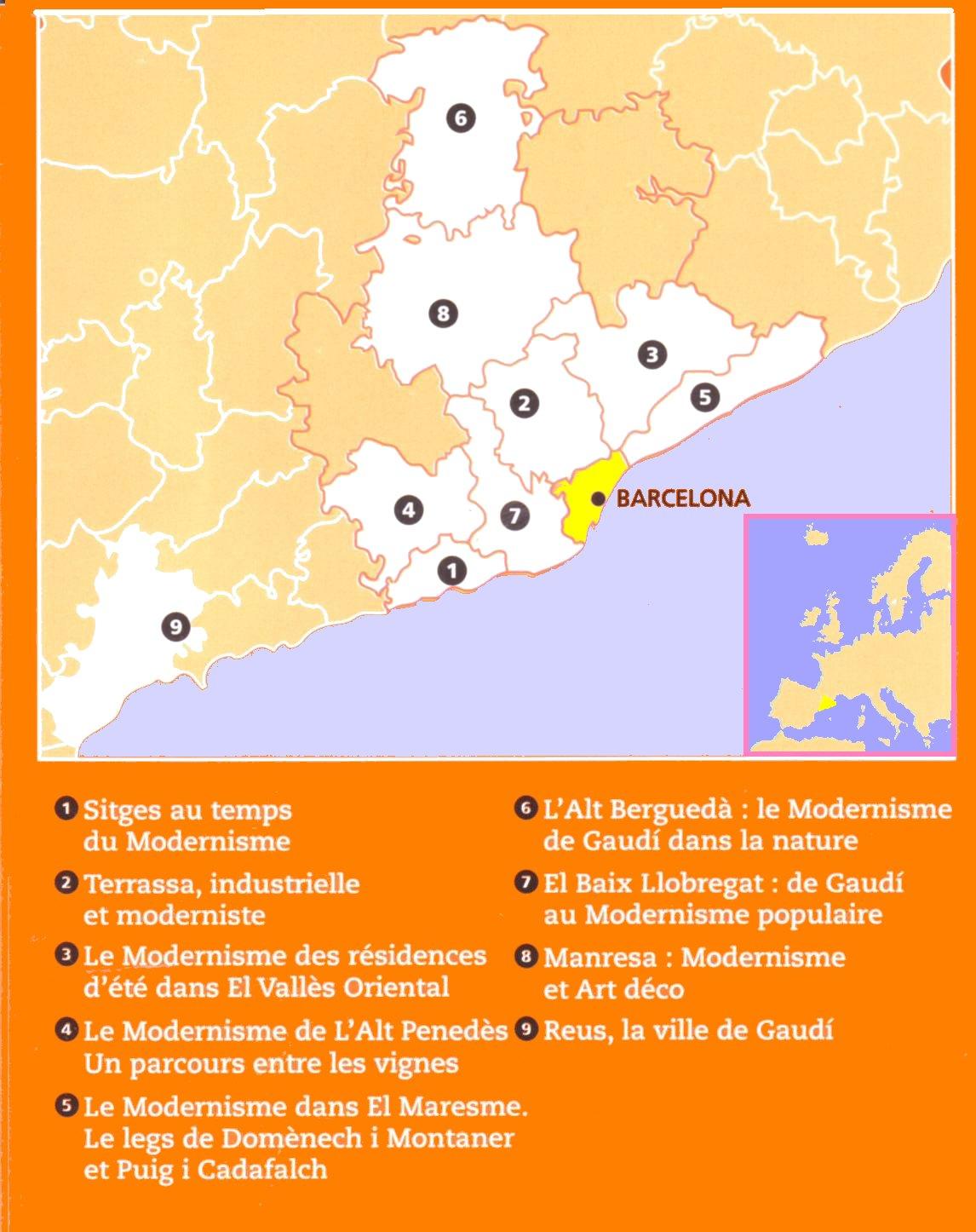 Alain lacour 9 destinations modernistes en catalogne non loin de barcelone - Office de tourisme sitges ...