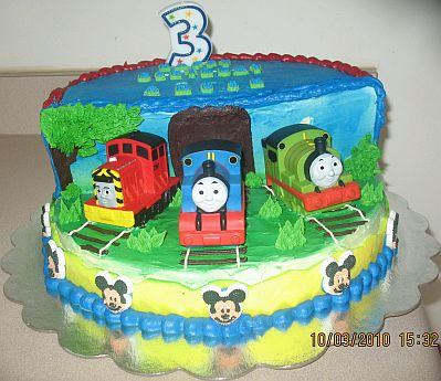 MyTotalNet Thomas and Friends cakes for Children