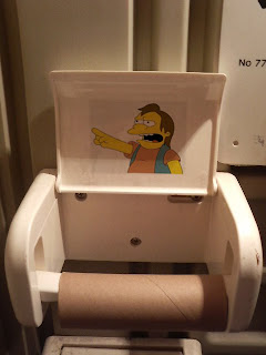 simpsons nelson toilet paper ha ha