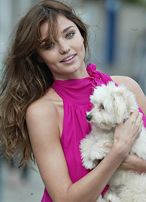 Miranda Kerr Becomes A Victoria's Secret Angel