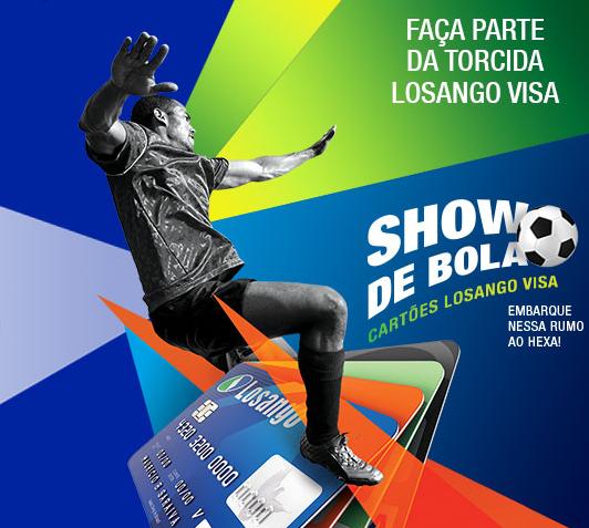 Como eu faço para participar promoção Show de Bola Losango Visa 2014