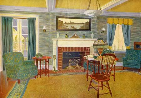1950's Atomic Ranch House: July 2011