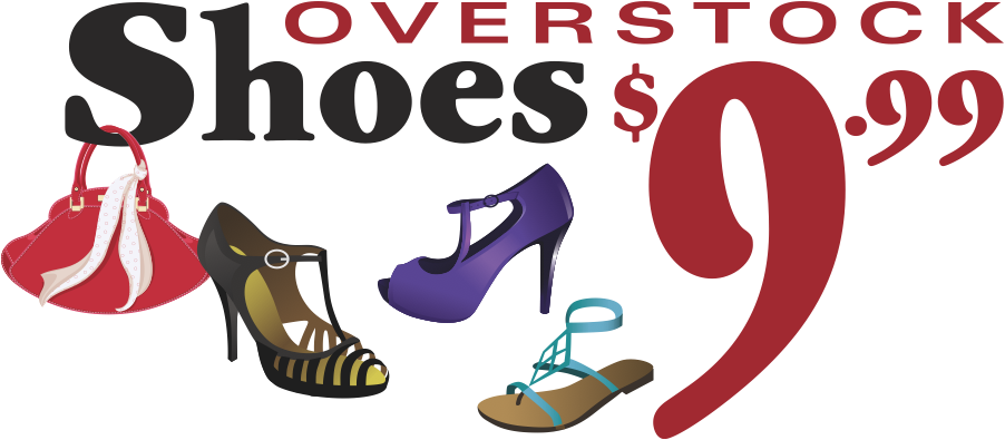 Overstock Shoes $9.99