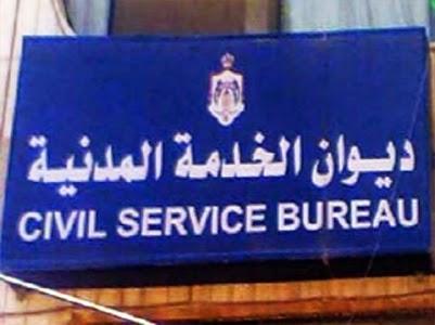 ديوان الخدمة المدنية الاعلان عن 900 وظيفة للفئة الثالثة