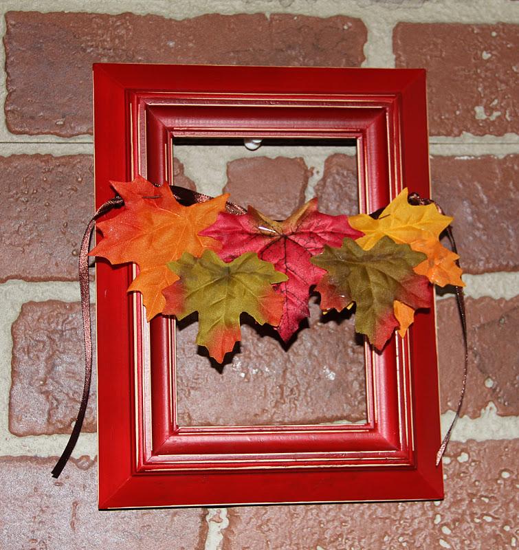 Photo Frame Wreath