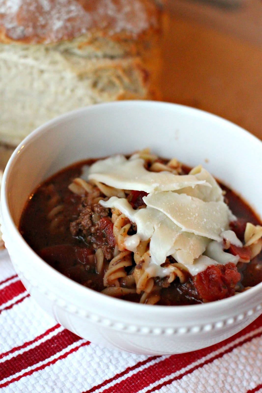 Larissa Another Day: Slow Cooker Saturday: Lasagna Soup