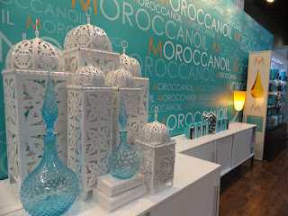 MoroccanOil booth at Cosmoprof