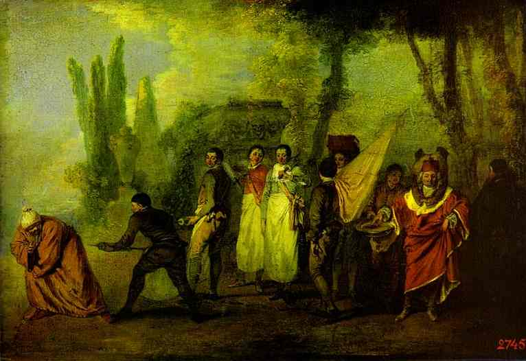 a biography and life work of jean antoine watteau a french rococo artist Jean-baptiste pater was active  by another french painter, jean-antoine watteau  that watteau gave the last days of his life to pater and.