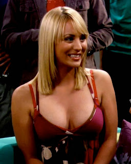 Penny escote The Big Bang Theory - Kaley Cuoco