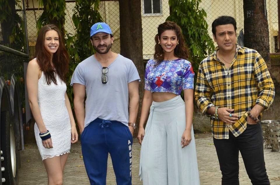 Riteish, Saif Ali Khan, Kalki & Ileana Dcruz snapped at Mehboob Studio