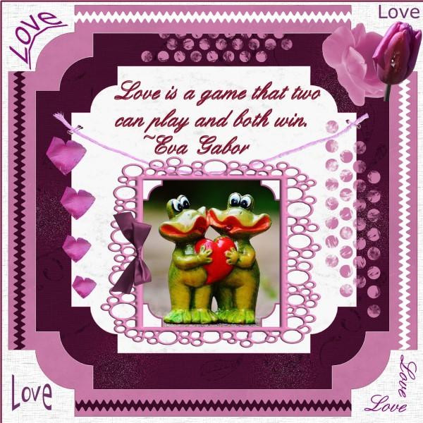 Feb.2016 – Love is...