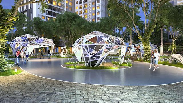Quảng trường Sapphire tại Goldmark City