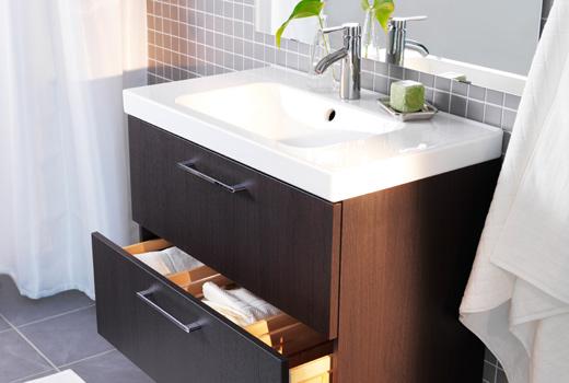 Evoluzione bagno arredare il bagno con ikea for Ikea mensole bagno
