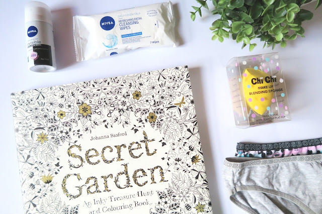 14- 20th Birthday Haul Blog Post Secret Garden Colouring Book etc