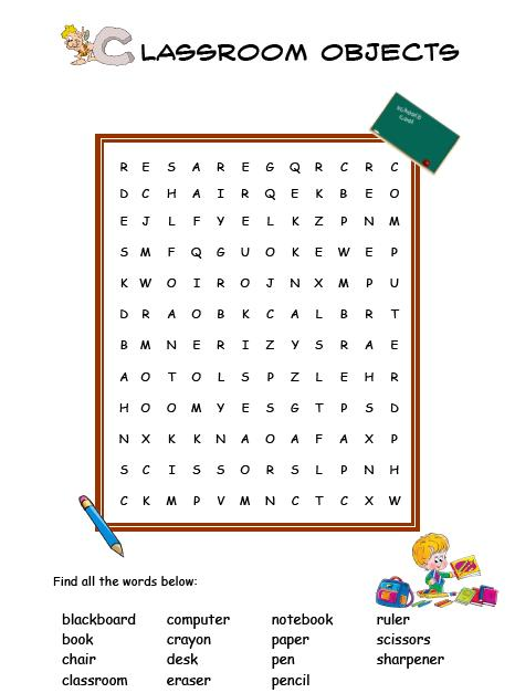 Free english worksheets for primary 2