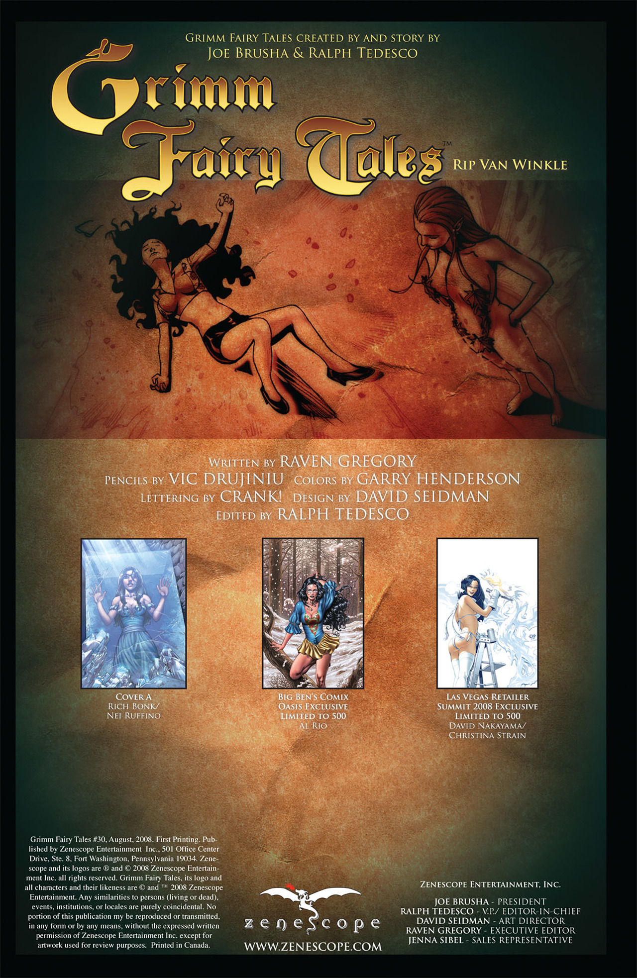 Grimm Fairy Tales (2005) Issue #30 #33 - English 2