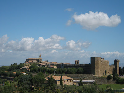 Fortress and town of Montalcino