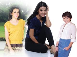 Shiera, Sharifah Sakinah, dan Julia Ziegler