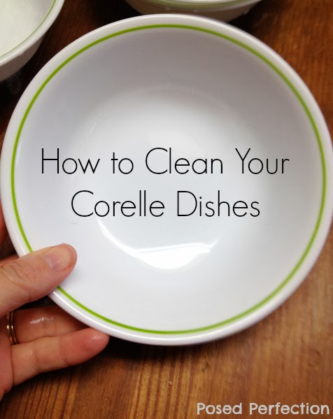 How to Clean Silverware Marks from Corelle Dishes-Top 10 Crafts/DIY/Tips of 2014
