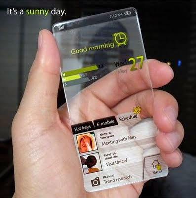 Grafeno - Exemplo de smartphone