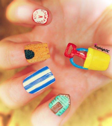 Seaside Nail Art
