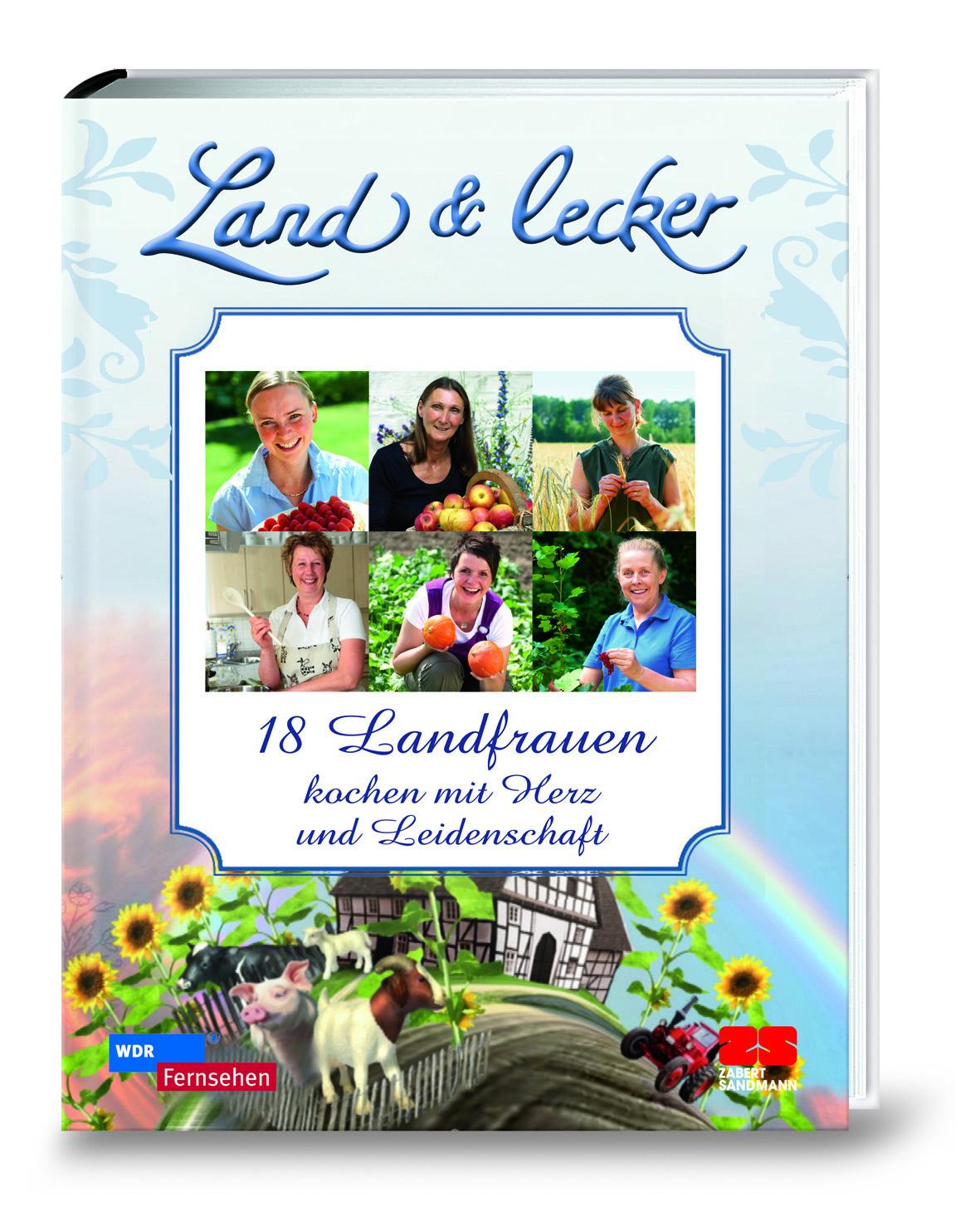 testfreak land lecker 18 landfrauen kochen mit herz. Black Bedroom Furniture Sets. Home Design Ideas