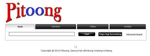 Pitoong Mesin Pencari Indonesia