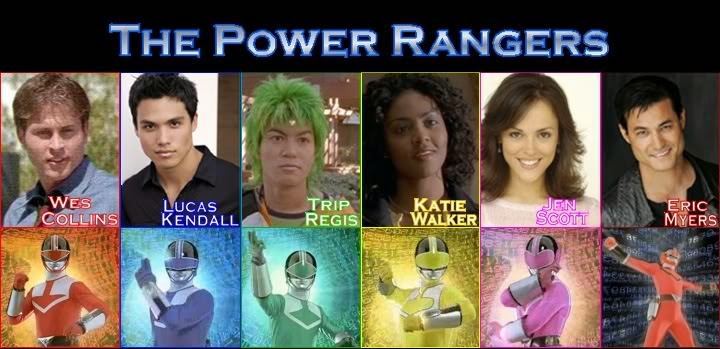 Tokoh Pemeran Power Rangers - Time Force