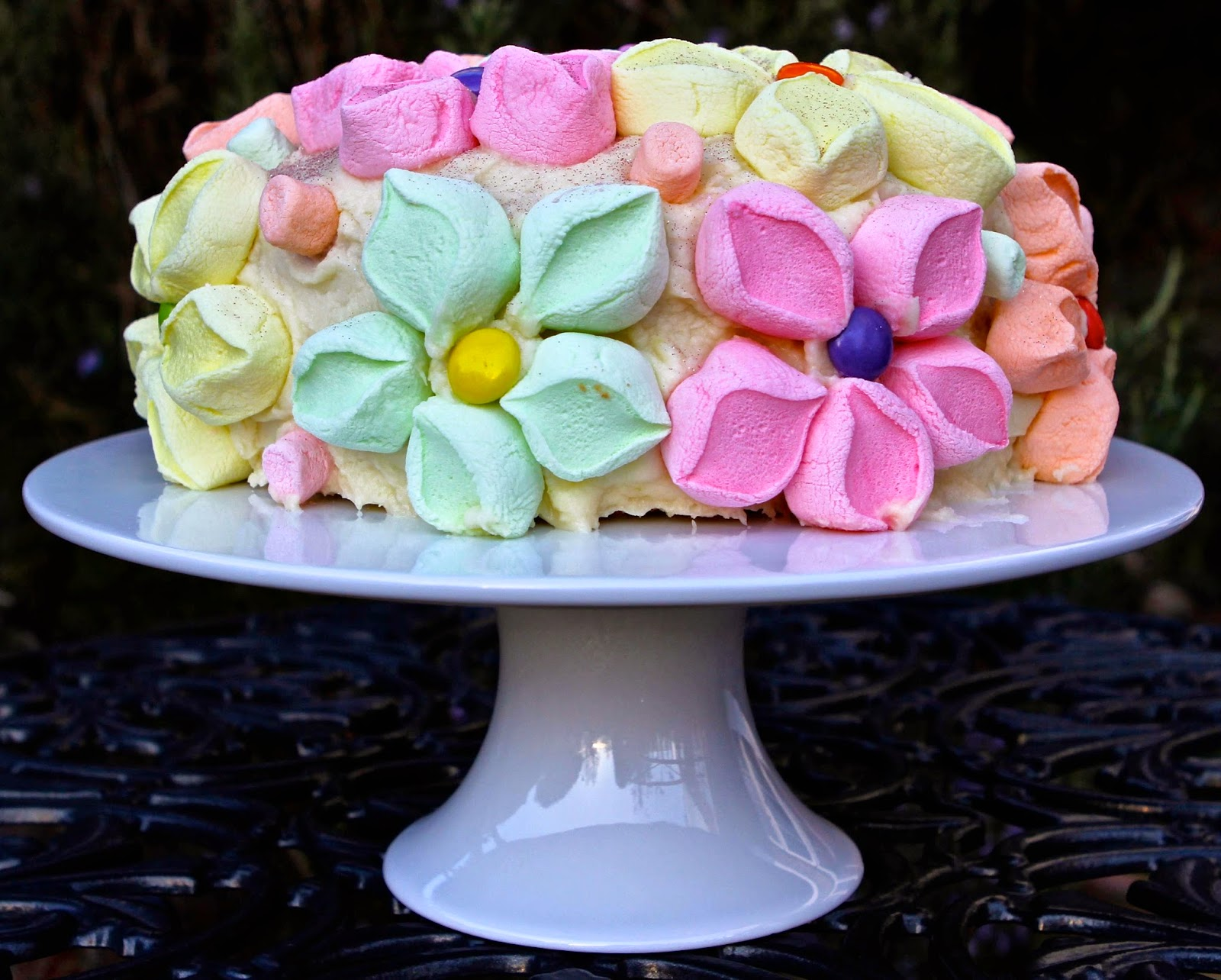 Coconut Marshmallow Cake Recipe