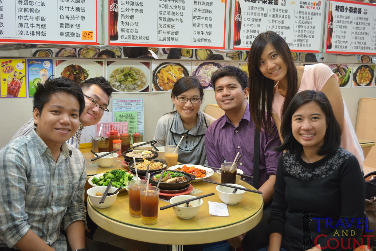 Dinner at Mongkok with Hong Kong Friends