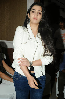 Actress Charmi Kaur Pictures in Jeans at One by Two Movie Celetes 20 Years Event 0133